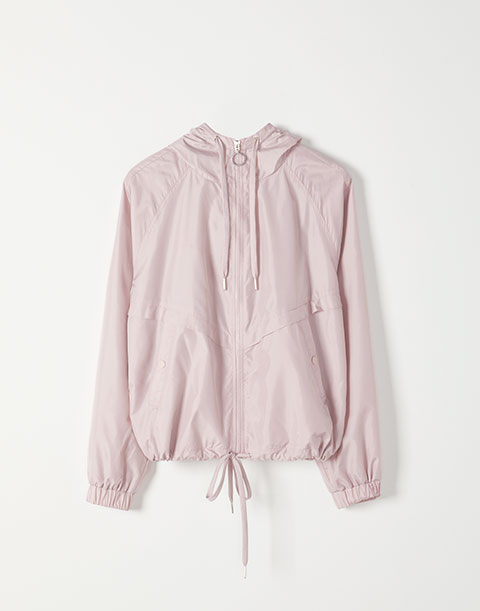 Pink hoodie by Hyba