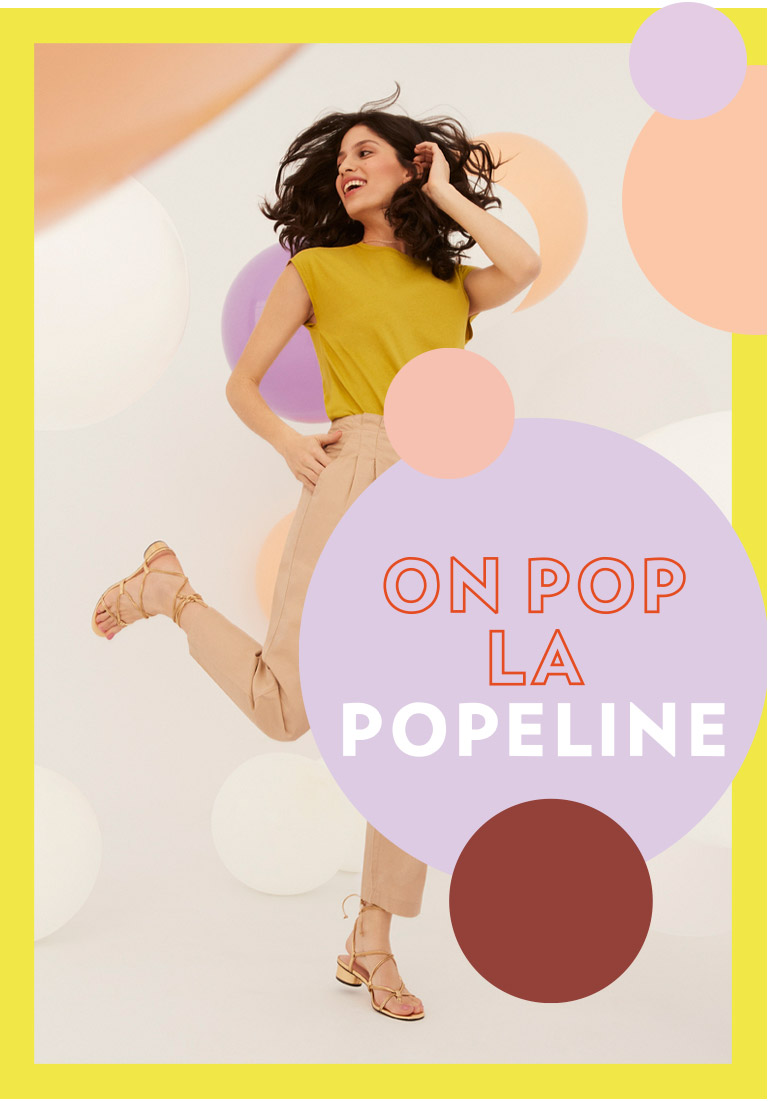 On pop la popeline