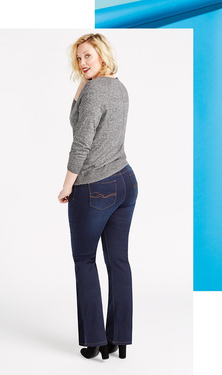 I have wide hips.