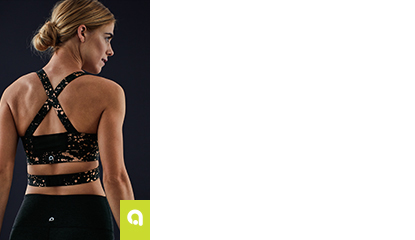 Sports bras at 60% off