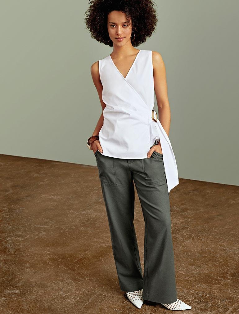 1dcf7a8092a The Linen Pant